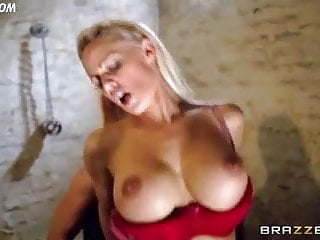 UK whore LouLou takes thick juicy cock up her shaved slit