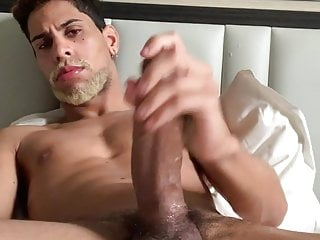 Brazilian stallion showing off his monster beautiful cock 6