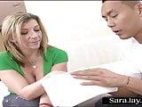 Sara Jay Gets Asian Dick at Nail Salon