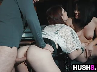 Musician In A Threesome With Two Hot Fans