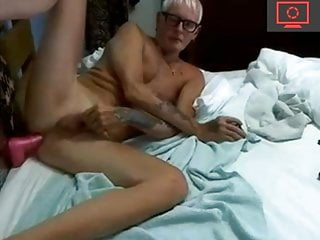 Grandpa dildo sex...