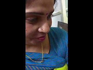 Indian colleague MILF office in in restroom by fingered
