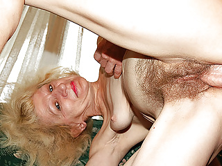 Chlpatá babička chce drsný sex