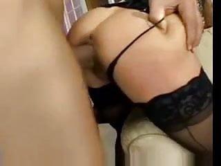 Gorgeous busty milf straight anal FM14