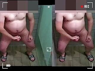 Security Guard Spy Cum Shower