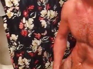 Off cum at bathroom...