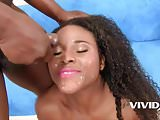 Vivid.com - Black babe Charlie gets rammed by a BBC