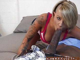 4k tiny pressley takes this massive african cock...