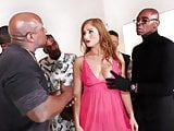 Skylar Snow Squirts During BBC Gangbang