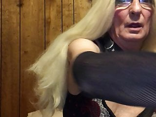 Lingerie Shemale Bdsm Shemale video: Sage's submission and popper brainfuck with humiliation
