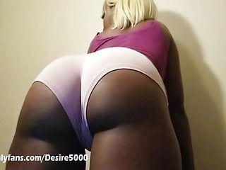 Joi ass worship in booty shorts