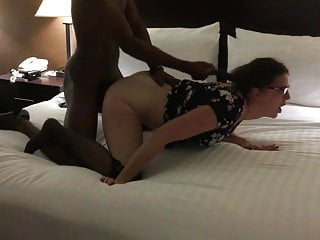 Teachers fucks her young black student on his...