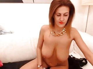 attractively saggy webcam milf