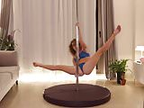 Webcam Girl Stripper Pole