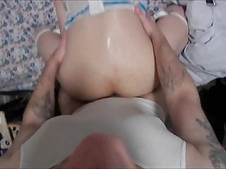 Asian CD Sissy Fucked Doggystyle By Straight BF's BWC