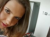 All Internal presents Agness Miller in dripping creampie