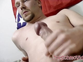 Chubby sucking on hard younger cock...
