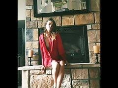 Cortney Palm - Fireplace Striptease