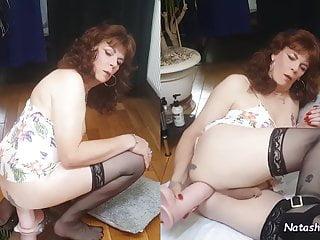 Natasha anal dildo king cock xxl...