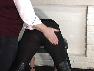 Extreme spanking british online...
