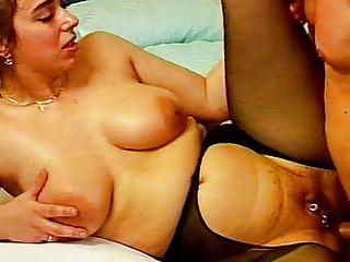Pierced chubby anal...