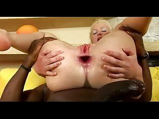 curious blonde received in all holes
