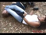Beatdown In The Forest - Merciless Outdoor Fight