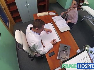 FakeHospital Horny saleswoman strikes a deal with the Dr