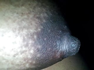 Fast black nipples...