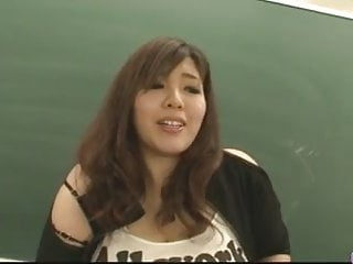 Plump and busty hung and horny teacher...