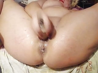 Bbw milf sex squirting dildo masturbation