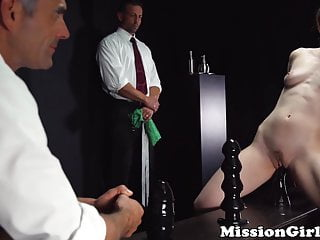Shy Mormon girl destroys her cunt with toys before fucking