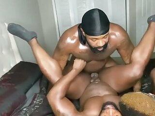 Grownmen threesome