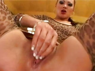 Priscilla anal DP with 3 Huge cocks