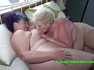 Granny Kim and her girlfriend Joolz