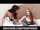 Brazzers - Bored MILF fucks not her step daughter