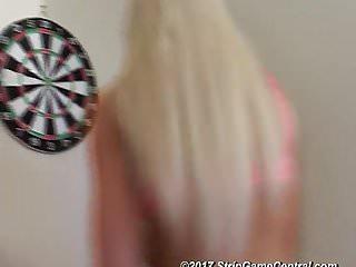 Charlie & Tearry play Strip Darts
