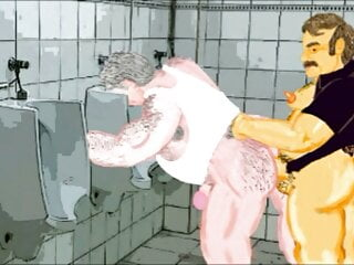 Gaybear: Cruising in public toilets (chapter2 part3)