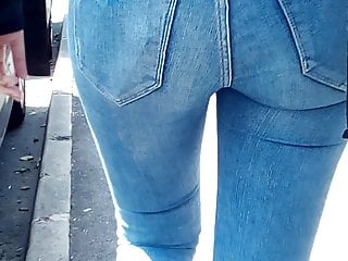 tight ass AC blue Big jeans of in Vietnamese a sexy