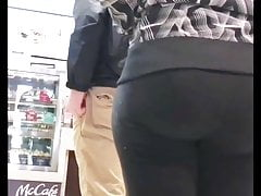 Fast Food Ass In Leggings