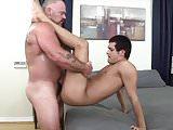 Latin Boy Gets Fucked By Bear