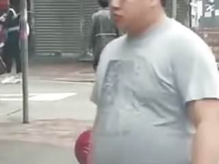 chinese naked in street (33'')