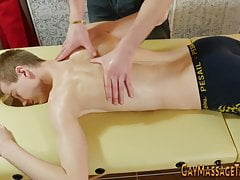 Gay masseur sucking client