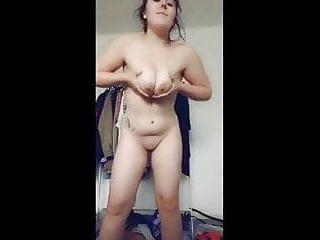 Tits brunette...