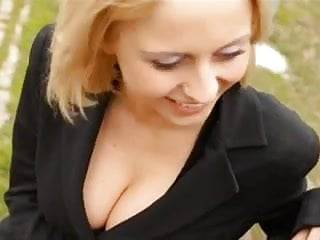 Nice busty slut fucked in the anus