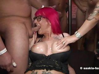 Bukkake Party Saskia Farell Yasmin Diamond