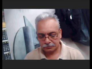 Mexican sexy grandpa wanking webcam...