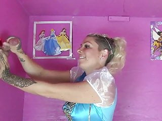 Princess Handjob compilation