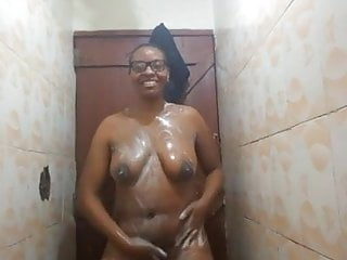 Wairimu-Esther --- shower fun and clean up times