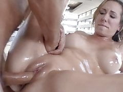 Lubed Summer Oiled Up Swim Makes Pussy Soddening Wet